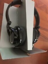 Orion ifrogz Stereo Music Headphones with Microphone Black Foldable 40mm Comfort