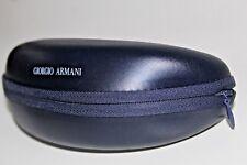 NEW~GIORGIO ARMANI~Soft Side Zipper Plastic CASE EYEGLASS Spectacle RARE Vintage