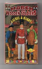 The March of the Wooden Soldiers (VHS, 1995), ununsed, unopened, Laurel & Hardy
