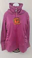 Tamagear Women's Saddleback Full Zip Mid-Layer Fuchsia Jacket Size-Large  (B2)