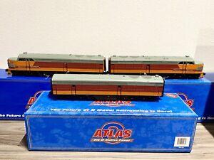 Atlas O FM Erie Olympian Hiawatha Locomotive Milwaukee Road ABA Set Ex+ w/ Boxes