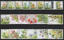 More details for kenya sg257/71 1983-5 flowers definitive set of 20 mnh