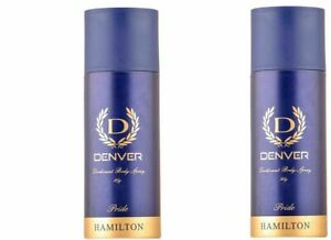 165ML Denver Hamilton Pride Deodorant Body Spray perfume