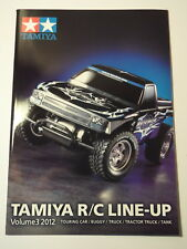 New Tamiya R/C Line Up Touring Car, Buggy, Truck, Tractor Truck, Tank Vol 3 2012