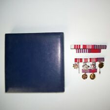 YUGOSLAVIA, Republic. Group of six miniature orders and medals, cased