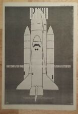 Rush Countdown  1983 press advert Full page 39 x 28 cm mini poster