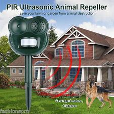 PIR Ultrasonic Animal  Dogs  Cats Animal Deterrent Battery Powered Repeller GH-5