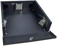 DVR NVR Secure Lockbox Security 16 Gauge with Cooling Fan, Camlock for CCTV