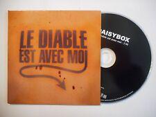 DAISYBOX : LE DIABLE EST AVEC MOI [ CD SINGLE PORT GRATUIT ]