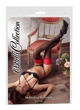Cottelli Collection misura 1 colore Nero con Cucitura Nylons Calzamaglia