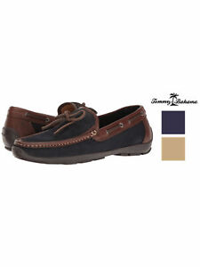 Tommy Bahama Men's Odinn Wide Width Moccasin Boat Shoe-New Without Box