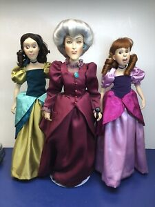 Disney Cinderella Evil Step Mother Step Sisters Lady Tremaine Drizella Anastasia