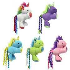 Mulitpet Unicorn Cat Toy Asst Color  Free Shipping