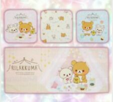 Brand New Genuine San-X Rilakkuma Pajama Party Microfiber Towel Set Japan