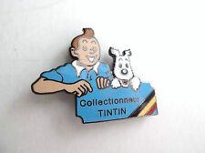 RARISSIME  pin's Tintin Collectionneur Club Tintin Saint Tirage limité collector