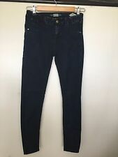 Pull And Bear Skinny Jeans  dark blue  size 26