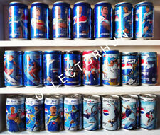 Pepsi Football Edition Can Collection - total 23 cans  2$ / can