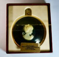 Peter Bates Miniature World Cameo of Young Lady Wall Plaque