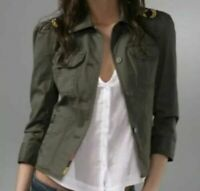 Juicy Couture Military-Style Jacket (Small/Petite) Retails New @ SHOPBOP $198