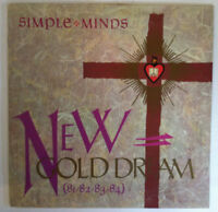 SIMPLE MINDS New Gol Dream (81/82/83/84) Disque LP VINYL 33 T 70.087 1982 Europe