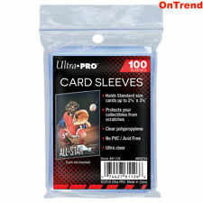 100 ct. Ultra Pro Standard Regular Card Protector Sleeves Penny Plastic Clear