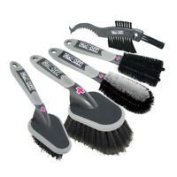 Muc-Off 5 Brush Set - Premium Brush Kit - Bike, Cycle, Car Cleaning Brushes