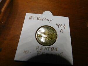 gerrmany WEIMAR REPUBLIC 10 PFENNIG 1924  A # 59