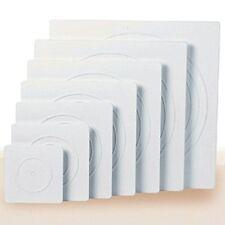 """16"""" White Square Decorator Preferred Separator Plate Wilton 302-1806 New"""