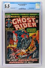 Marvel Spotlight #5 - Marvel 1972 CGC 5.5 Origin & 1st App Ghost Rider!