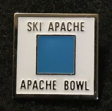 Ski Apache Bowl Skiing Pin New Mexico Resort Souvenir Travel Lapel Sierra Blanca