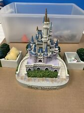 Very Rare Official Walt Disney Cinderella Castle Jewelry Box Limited 1 Of 100
