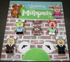 Muppets Disney Vinylmation 6 Pin Set Miss Piggy Fozzie Beaker Waldorf Statler