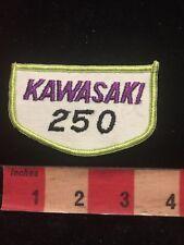 Vintage Kawasaki 250 Motorcycle Biker Patch 84Gg