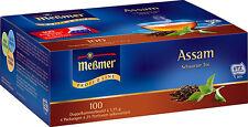 (100g=4,99€) Meßmer Tee - Assam - Schwarzer Tee - 100 Beutel