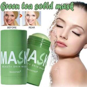 Face Mask Clean Beauty Skin Green Tea Clean Stick Clean Care Whitening P2T7