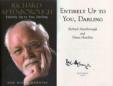 Richard Attenborough SIGNED AUTOGRAPH Book AFTAL UACC RD