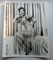 AVA GARDNER - Rare B&W Portrait, 8x10 Pin-Up Glamour