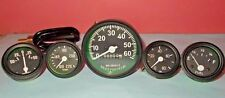 Jeep Willys Speedometer 12 V fits 1946-66 CJ-2A, 3A, 3B,M38, M38A1 + Gauges Kit
