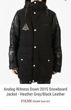 Burton Analog Snowboard Coat Size L -NWT