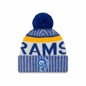 Los Angeles Rams Kid's NFL Sport Knit Hat Cap Beanie Fleece Lined Youth Retro JR