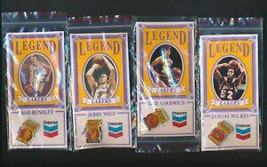 LA Lakers Legends Chevron Pin West/ Hundley/ Goddrich/ Wilkes *P158