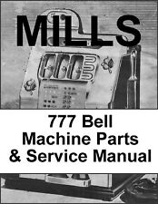 Mills Model M Parts & Service Manual / Mills 777 Parts & Service Manual Download