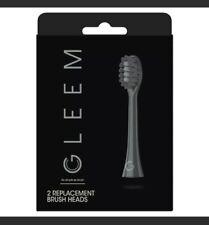 Gleem Toothbrush Refill Heads - Black - 2ct