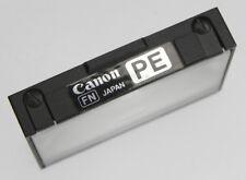 Canon PE Focusing Screen for New F-1  #5