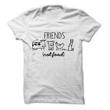Vegan Shirt Vegetarian T Shirt Animal Lover Friends Not Food Shirt Unisex
