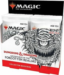 MTG ADVENTURES IN THE FORGOTTEN REALMS COLLECTOR BOOSTERS BOX  - OVP - English