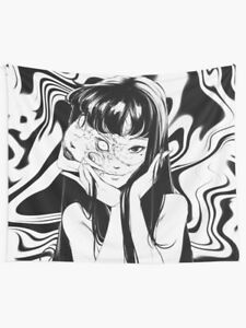 Tomie - Junji Ito Tapestries,Tomie Wall Tapestry