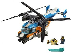 LEGO® Creator 3in1 Twin Rotor Helicopter Toy 31096