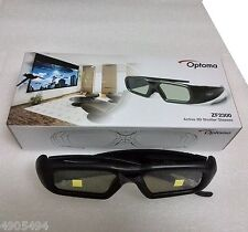 2 X  Optoma ZF2300 Genuine active shutter DLP-Link projector 3D glasses