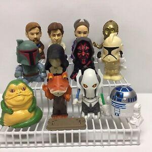 2005 Burger King Star Wars Toys 12 Lot Vintage Star Wars Toys
